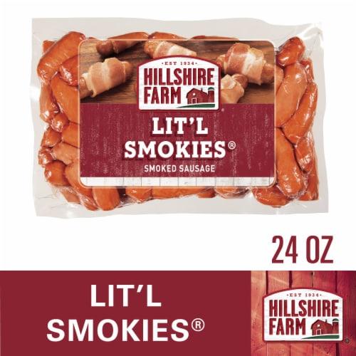 Hillshire Farm Lit'l Smokies Smoked Sausage Perspective: top