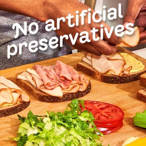 Oscar Mayer Deli Fresh Honey Uncured Ham Lunch Meat Perspective: top