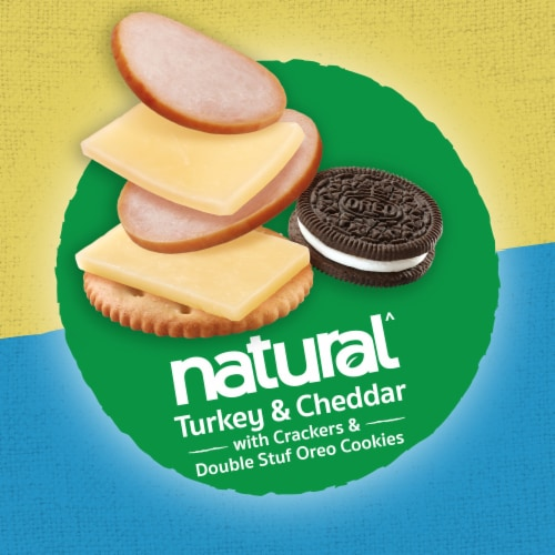 Lunchables Natural Turkey & Cheddar Cheese Lunch Kit Perspective: top