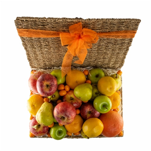 Melissa's Fruit Hamper Gift Basket (Approximate Delivery Time 3-5 Days) Perspective: top