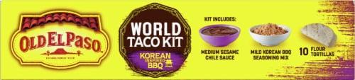 Old El Paso Korean Inspired BBQ World Taco Dinner Kit Perspective: top