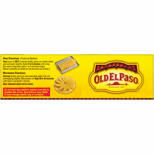 Old El Paso Stand 'N Stuff Bold Ranch Flavored Taco Shells Perspective: top