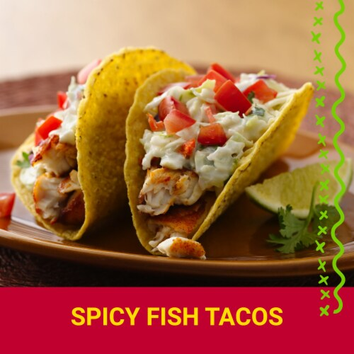 Old El Paso Super Stuffer Extra Large Taco Shells 10 Count Perspective: top