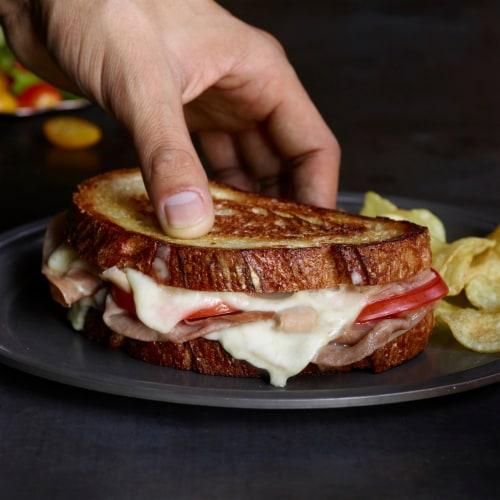 Sargento Natural Mozzarella Cheese Slices Perspective: top