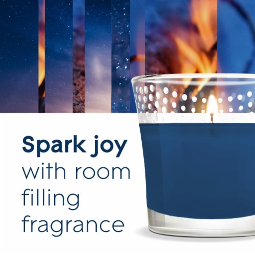 Glade® Limited Edition Fall Night Long Candle Perspective: top