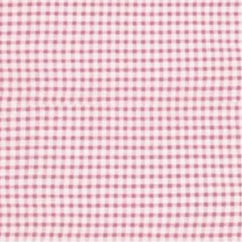 Folding Nursery Basket/Storage Cube - Pink Gingham Perspective: top