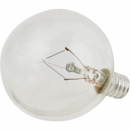 Philips DuraMax 40-Watt Candelabra Base G16.5 Globe Light Bulbs Perspective: top