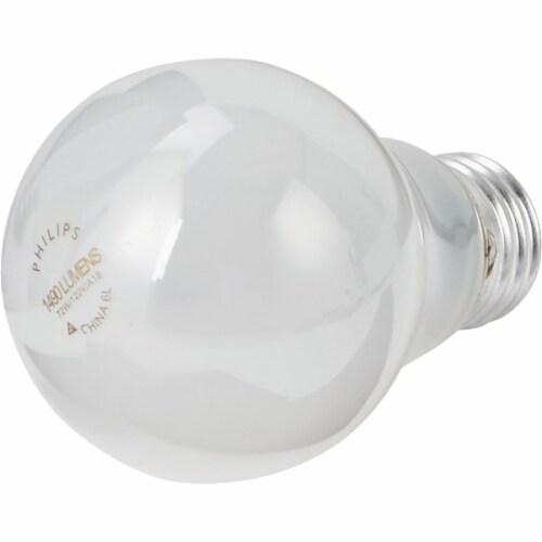 Philips EcoVantage 72-Watt (100-Watt) Medium Base A19 Light Bulbs Perspective: top