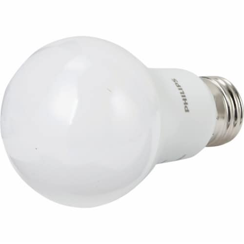 Philips 75W Equivalent Daylight A19 Medium LED Light Bulb (2-Pack) 463000 Perspective: top