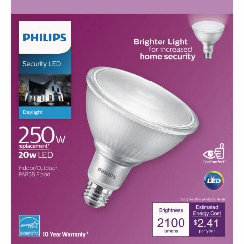 Philips 20w Par38 Dl Led Bulb 539940 Perspective: top