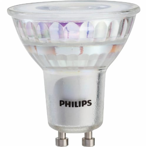 Philips 4-Watt (50-Watt) GU10 Base MR16 Indoor LED Floodlight Bulbs Perspective: top