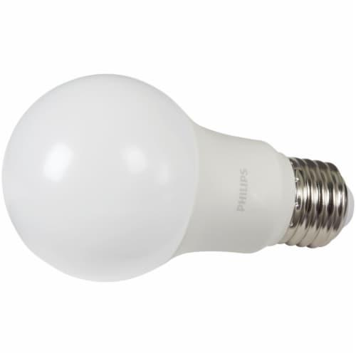 Philips 5-Watt 40-Watt A19 LED Light Bulbs Perspective: top
