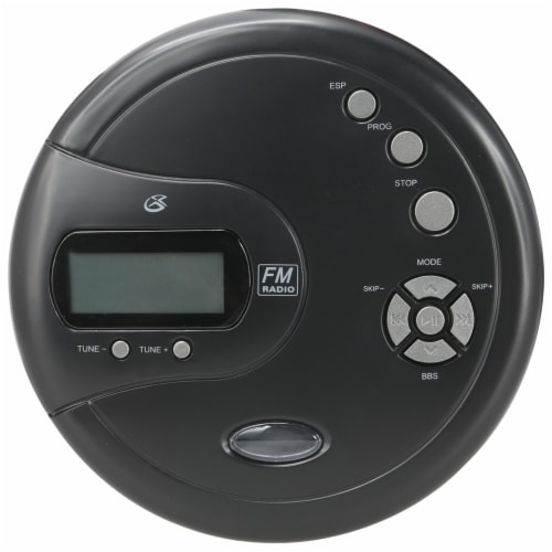 GPX Portable CD Player - Black Perspective: top