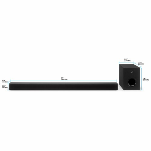 iLive ITBSW399B Sound Bar System - Black Perspective: top