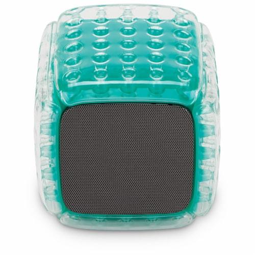 iLive ISBW101TQ Bluetooth Speaker - Aqua Perspective: top