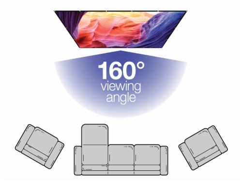 GPX Inddor Soft Projector Screen Perspective: top