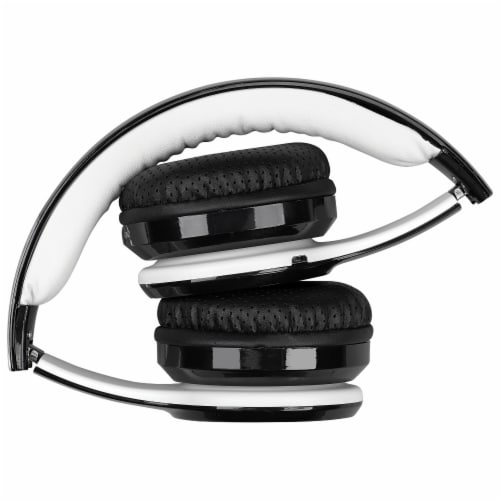 iLive IAHB239B Bluetooth Headphones - Black/White Perspective: top