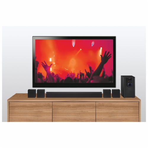 iLive 5.1 Home Theater Surround Speaker System Perspective: top