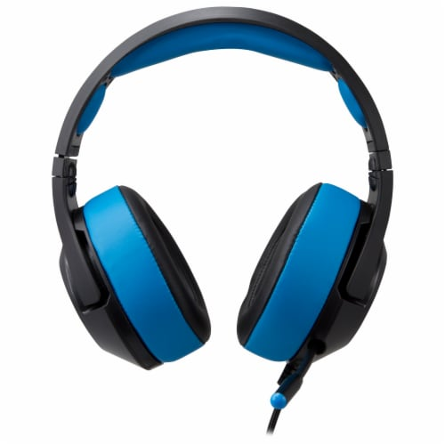 iLive G49B Gaming Headphones - Black/Blue Perspective: top