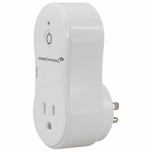 Amped Wireless Wifi Smart Plug Perspective: top