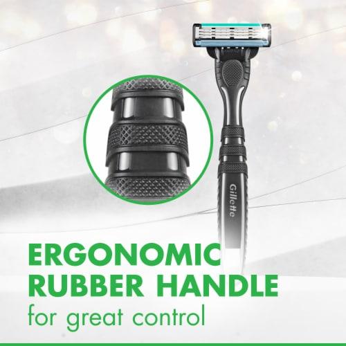 Gillette® Mach3 Sensitive Men's Disposable Razors Perspective: top
