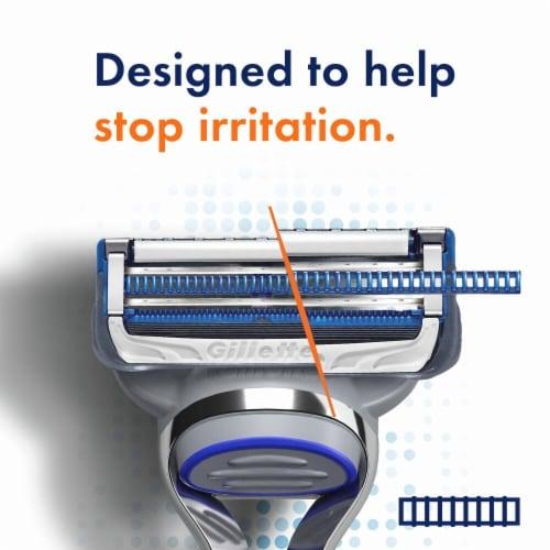 Gillette® SkinGuard Men's Razor Blade Refill Cartridges Perspective: top