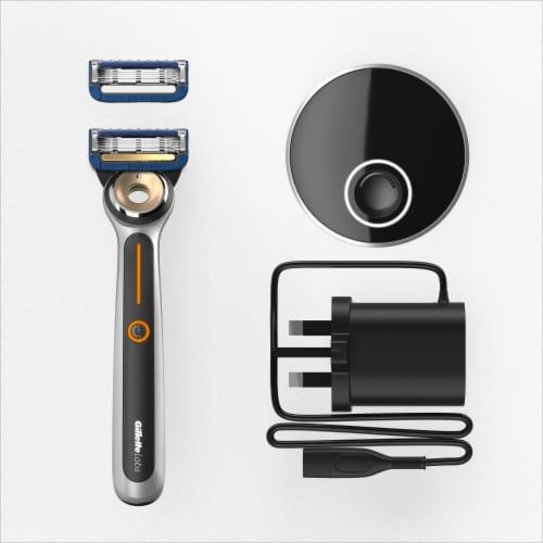 Gillette Labs™ Heated Shaving Razor for Men Perspective: top