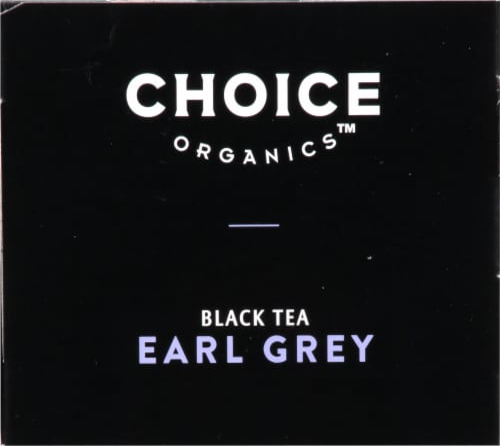 Choice Organics™ Earl Grey Tea Bags Perspective: top