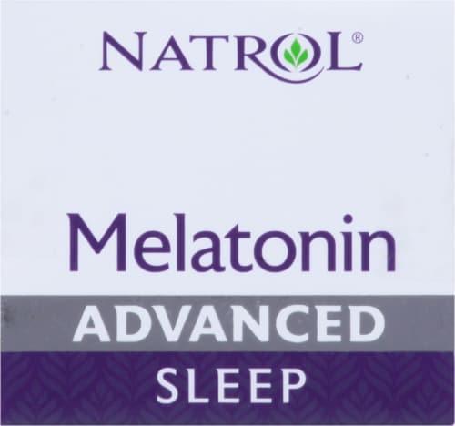 Natrol Advanced Sleep Maximum Strength Melatonin Tablets 10mg Perspective: top