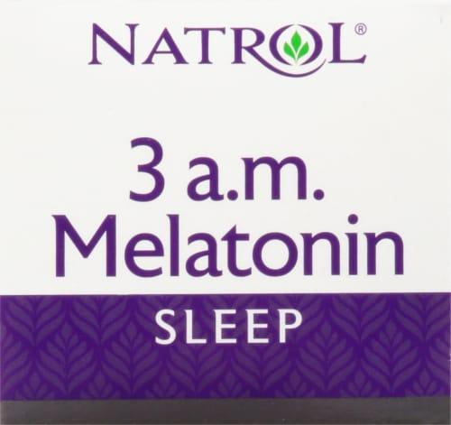 Natrol® 3 am Melatonin Sleep Tablets Perspective: top