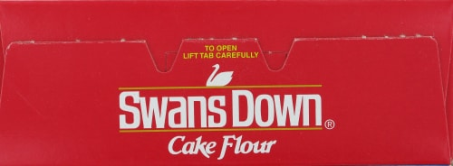 Swans Down Cake Flour Perspective: top