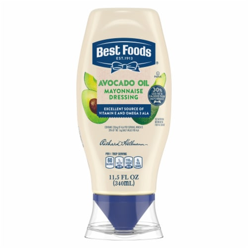 Best Foods Avocado Oil & Hint of Lime Mayonnaise Dressing Perspective: top