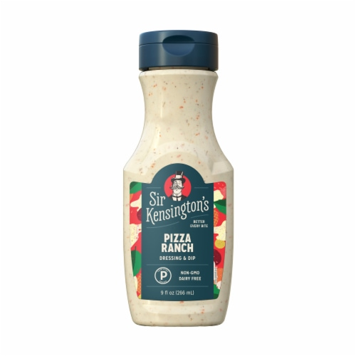 Sir Kensington's Pizza Ranch Dressing & Dip Perspective: top