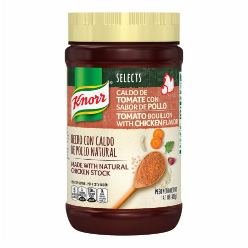 Knorr Selects Chicken Tomato Flavor Bouillon Perspective: top