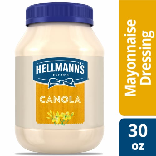 Hellmann's Cholesterol Free Canola Mayonnaise Perspective: top