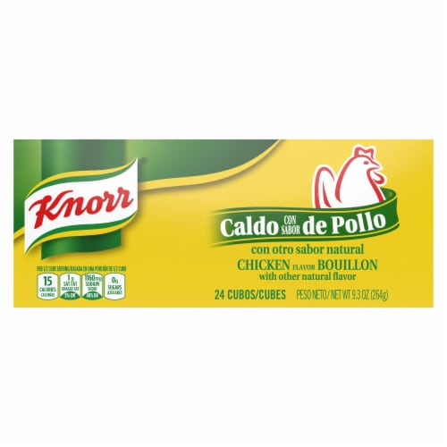 Knorr Chicken Bouillon Cubes Perspective: top
