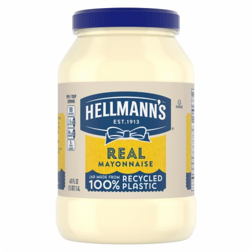 Hellmann's Real Mayonnaise Perspective: top