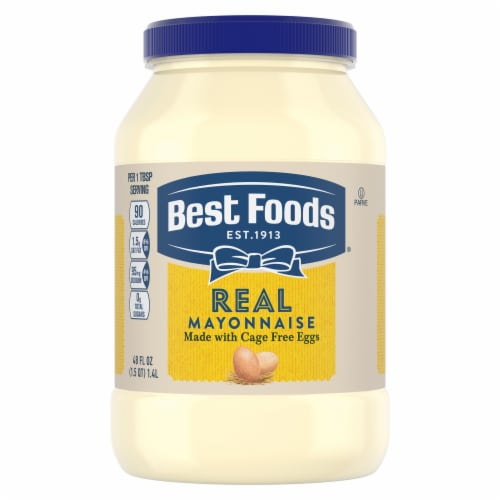Best Foods Gluten-Free Real Mayonnaise Spread Perspective: top