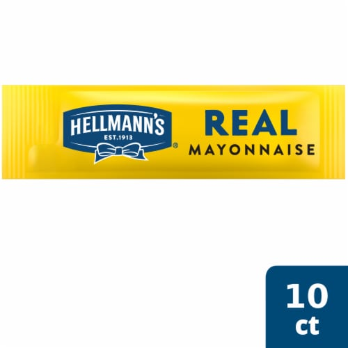 Hellmanns Real Mayonnaise To Go Packets Perspective: top