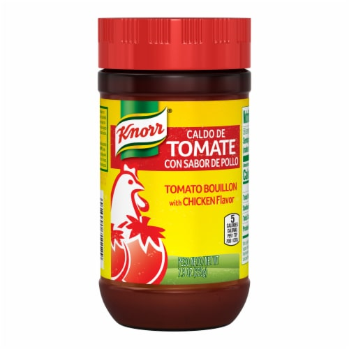 Knorr Tomato Bouillon with Chicken Flavor Perspective: top
