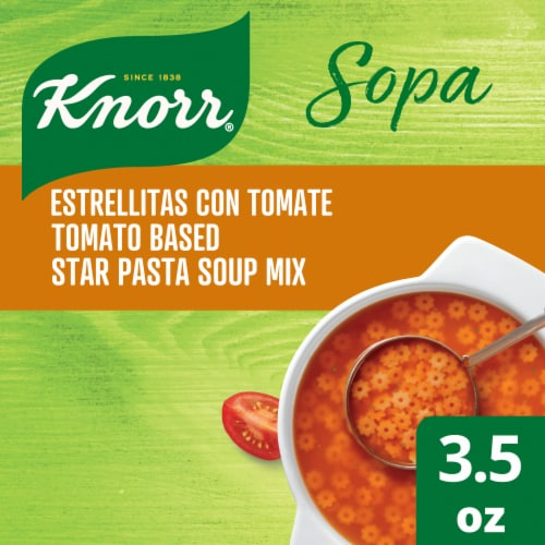 Knorr Tomato Based Star Pasta Soup Mix Perspective: top