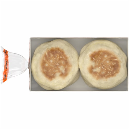 Thomas' King Size Original English Muffins Perspective: top
