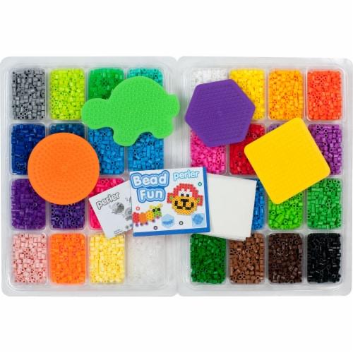 Perler Bead Fun Fused Bead Kit Perspective: top