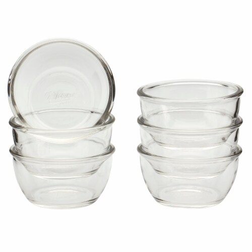 Mason Craft & More Glass Cereal Bowl - Clear Perspective: top