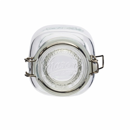 Tabletops Unlimited Mason Glass Clamp Jars Perspective: top