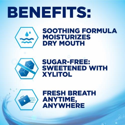 Biotene Refreshing Mint Lozenges Perspective: top