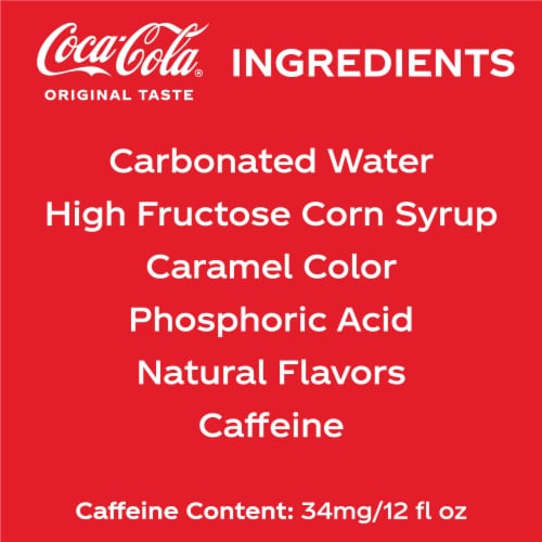 Coca-Cola® Classic Soda Perspective: top