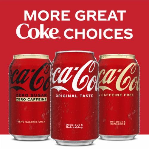 Coca-Cola Caffeine Free Soda Perspective: top