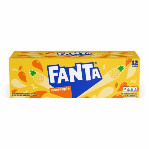 Fanta Pineapple Soda Perspective: top