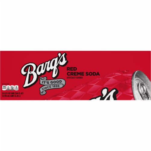 Barq's Red Creme Soda Perspective: top